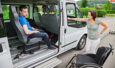 Garde d'enfant en situation de handicap à Noyal-sur-Vilaine.